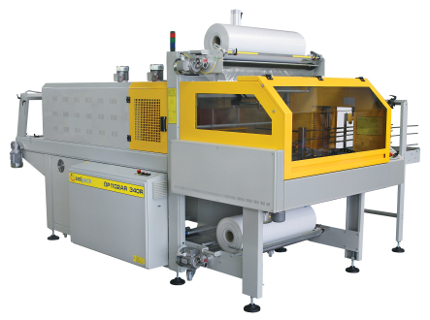 Automatic 90° infeed shrinkwrappers with monoblock structure and sealing bar