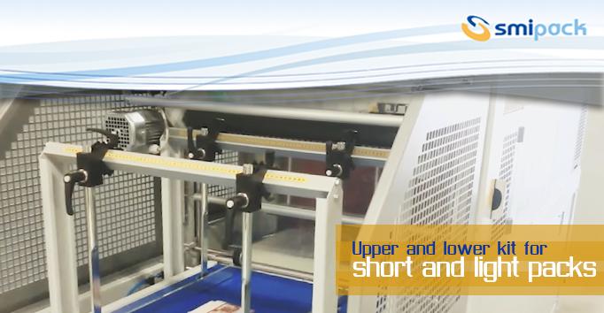 Upper and lower kit for short and light packs