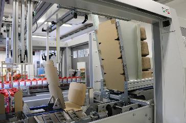 WPS 150R - Cardboard storage