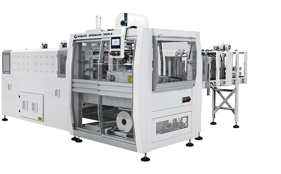 Semiautomatic and automatic shrinkwrappers with sealing bar