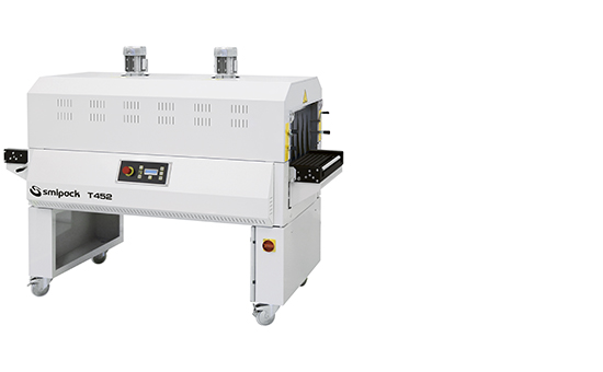Manual, semi-automatic and automatic sealers with shrink tunnel