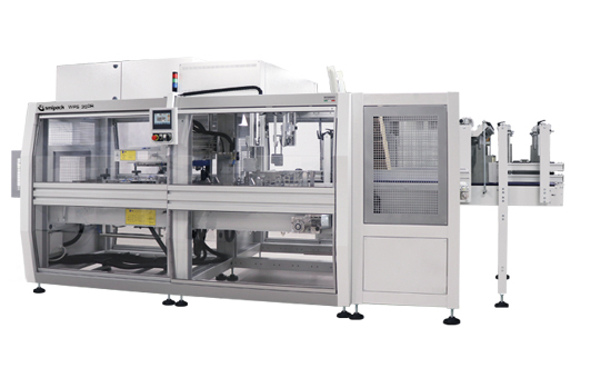 Automatic wrap-arownd case packers