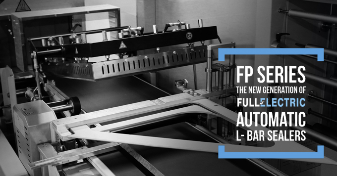 FP Series - The new generation of full electric automatic L- Bar Sealers.
