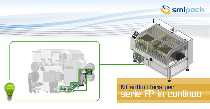 Kit soffio d'aria per confezionatrici in continuo serie FP