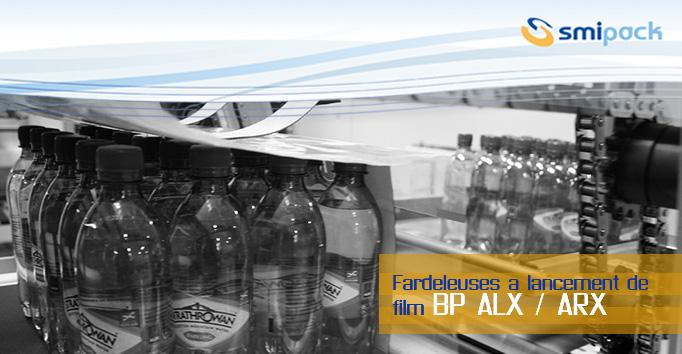 Fardeleuses à lancement de film BP ARX/ALX