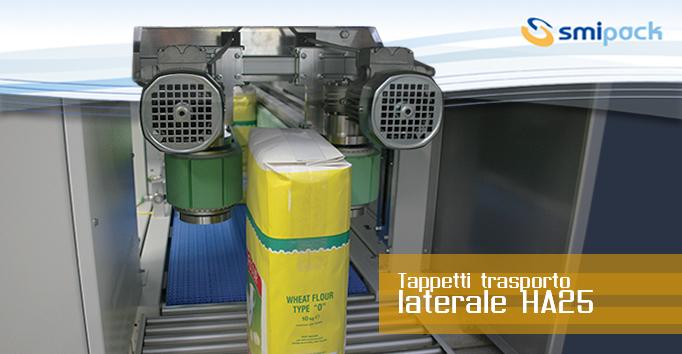 Tappeti trasporto laterale HA25