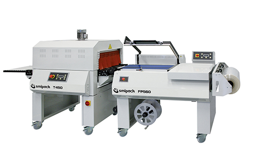 Manual L-sealers with shrink tunnel